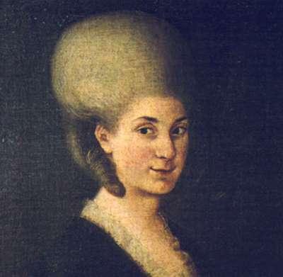 莫札特的姐姐瑪麗亞.安娜(Wikipedia/Public Domain)