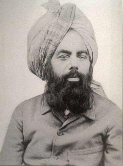 米爾紮·古拉姆·艾哈邁德(1835-1908)。(圖/作者提供)