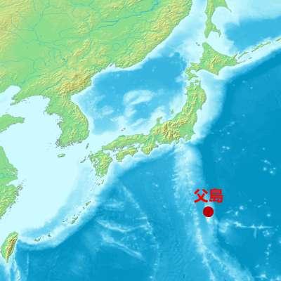 父島位在太平洋上,具重要戰略位置(圖/維基百科)