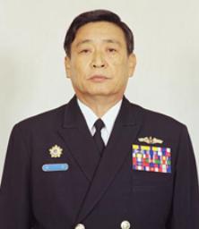 20190703-第十五任總司令李傑。(取自中華民國海軍官網)