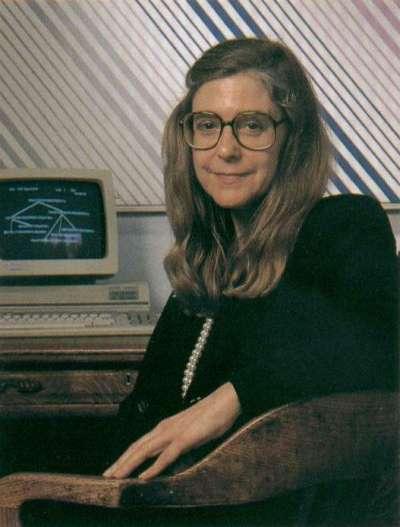 NASA電腦科學家漢彌爾頓(Margaret Hamilton)是阿波羅11號登月成功的大功臣。(維基百科公有領域)
