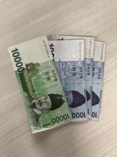 要換韓圜的化在韓國換錢會比較划算(圖/蔡佳妘攝)