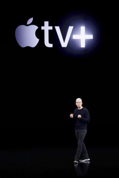 蘋果宣布切入串流影音節目的訂閱市場:Apple TV+(美聯社)