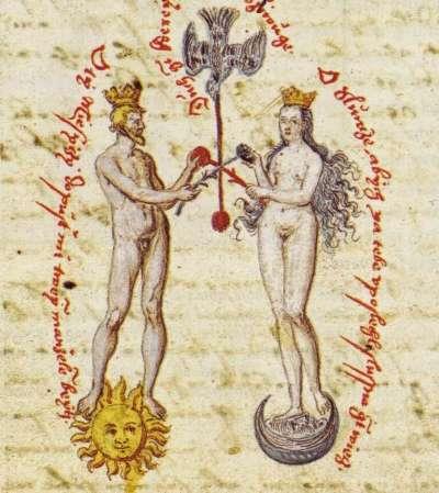 16世紀的煉金術手稿。(作者提供,取自維基百科)