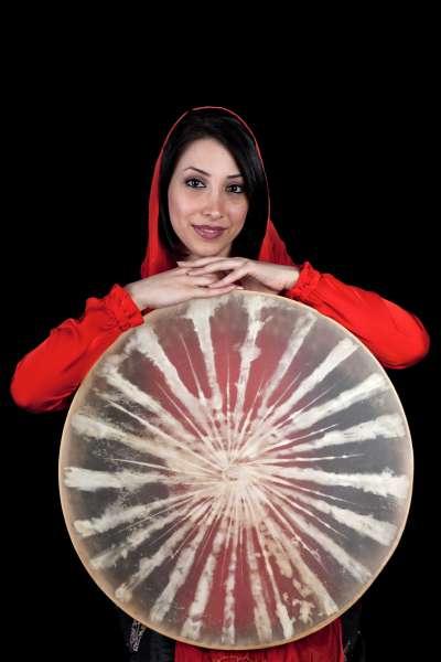 伊朗樂手蒙納(第十七屆流浪之歌音樂節提供)