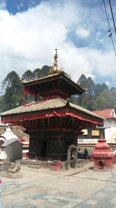 帕蘇帕提那神廟。(圖/謝幸吟)