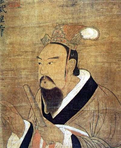 梁武帝畫像(取自維基百科)