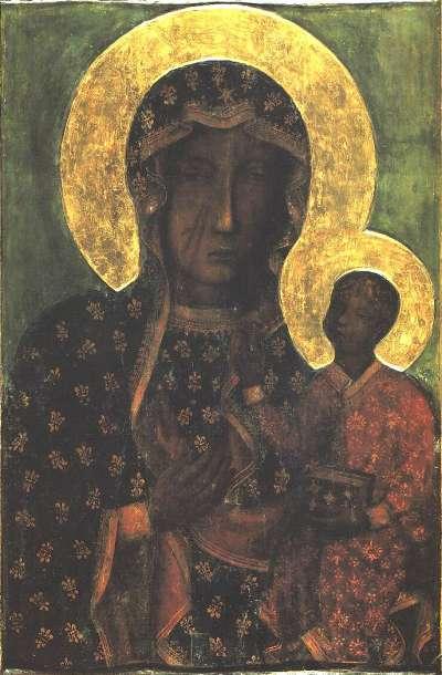 琴斯托霍瓦的黑色聖母像(Wikipedia/Public Domain)