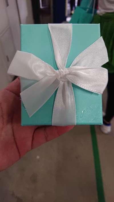 Tiffany完賽禮。(圖/謝幸吟提供)