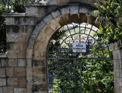 20191115-辛德勒位於耶路撒冷的墓園(作者提供)