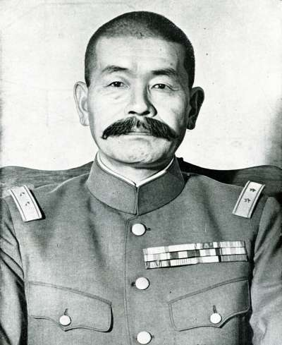 指揮鎮壓政變的東部軍司令官田中靜壹。(圖/維基百科)