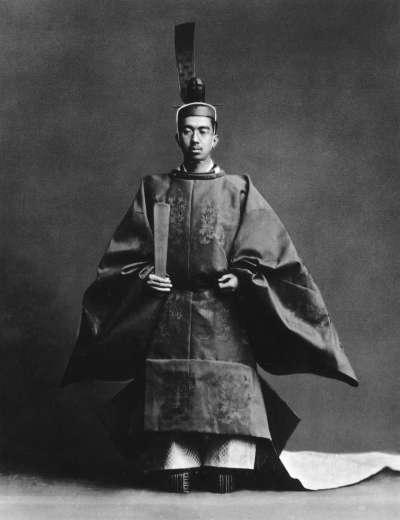 二戰時的天皇,昭和天皇。(圖/維基百科)