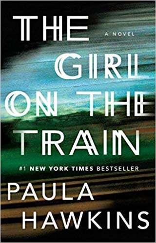 英國女作家霍金斯(Paula Hawkins)的驚悚小說《列車上的女孩》非常暢銷(取自Amazon)