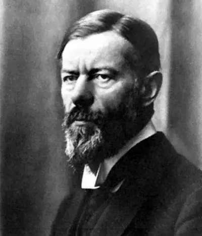 馬克斯‧韋伯(Max Weber,1864~1920,原名:馬克西米利安‧卡爾‧艾米爾‧韋伯)。(作者賈忠偉提供)