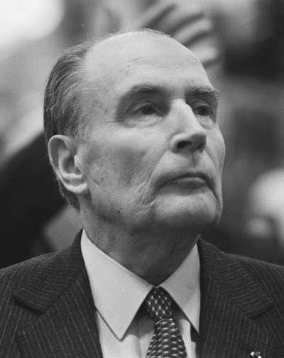 20200220-法國政治家法蘭索瓦.密特朗(François Mitterrand)。(維基百科)