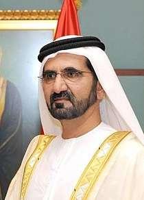 杜拜酋長穆罕默德被控威脅王妃哈雅公主,還曾綁架女兒回國。穆罕默德也是阿拉伯聯合大公國副總統兼總理。(AP)