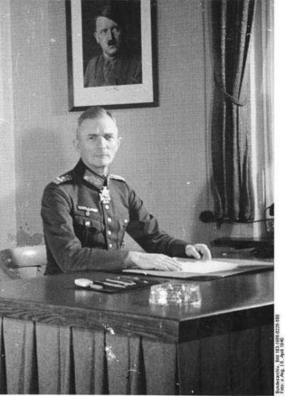 林挺生:德國中央集團軍司令波克元帥(資料來源:Wikimedia Commons)