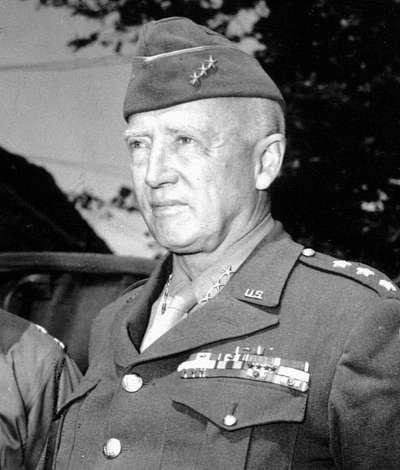 巴頓將軍(George Smith Patton, Jr.)(取自維基百科)