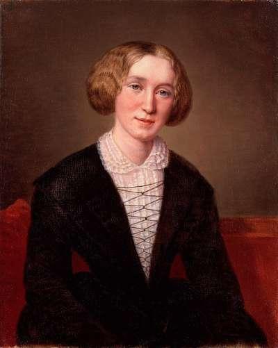 英國女作家艾凡斯(Mary Ann Evans)以男性筆名「喬治.艾略特」出版作品(Wikipedia/Public Domain)