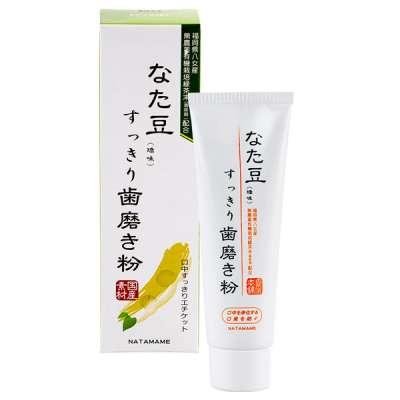 紅刀豆牙膏堪稱日本「國民牙膏」。(圖/日藥本舖官網)
