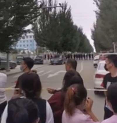 2020年9月,中國內蒙古地區發生群眾運動,抗議當局推行漢語、壓制蒙語(AP)