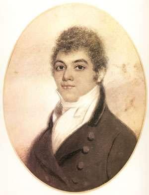 貝多芬肖像畫,1814年。(維基百科公有領域)