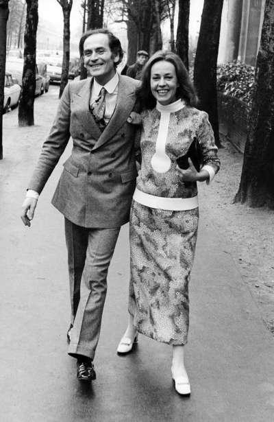 皮爾卡登曾與珍妮摩露交往多年。(圖/海鵬影業提供)