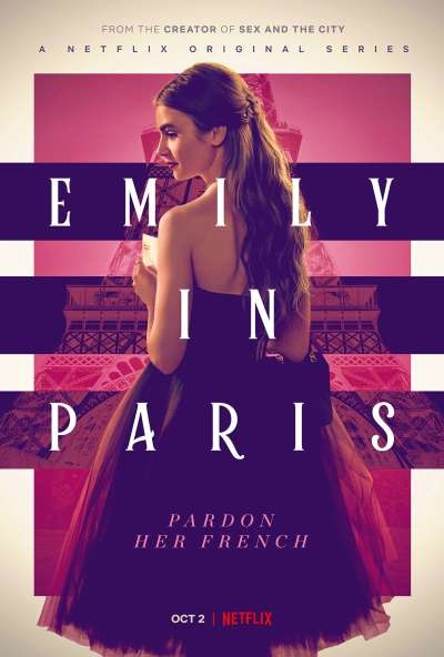 Netflix影集《艾蜜莉在巴黎》雖然有點鬧,但看起來很輕鬆,感覺巴黎很適合戀愛呢。(圖/翻攝自Netflix)