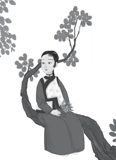 我們在清宮劇常看到一類宮女,就是后妃的陪嫁丫頭,其實在真實的歷史中,這種事極少發生。(圖/時報出版提供)