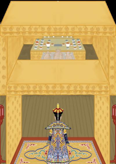 母儀天下之人,必須有能與皇家相對匹配的家世,而這種皇后出身家世的標準,在清代二百多年間也有一定的變化。(圖/時報出版提供)