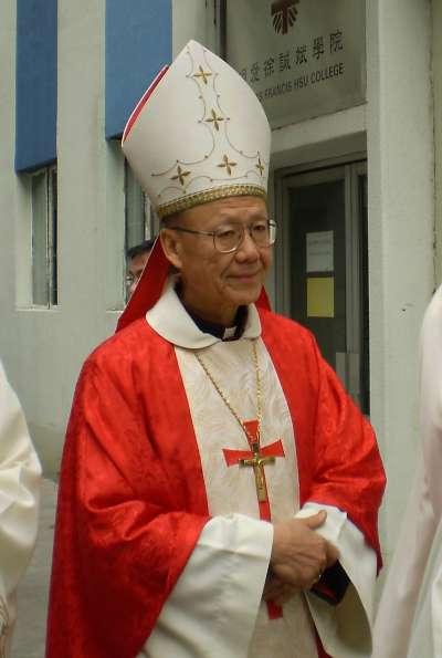 現任天主教香港教區宗座署理湯漢樞機。(Rock Li@Wikipedia/CC BY-SA 3.0)