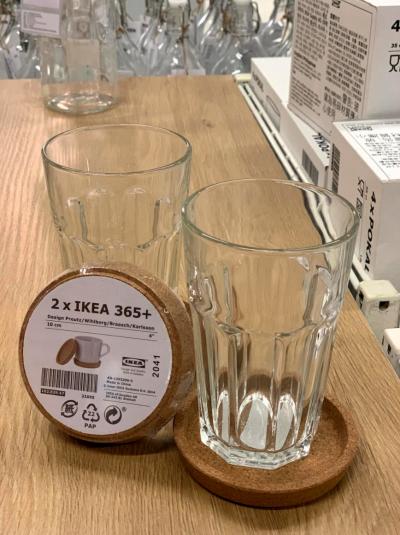 IKEA365+杯墊(圖/作者提供)