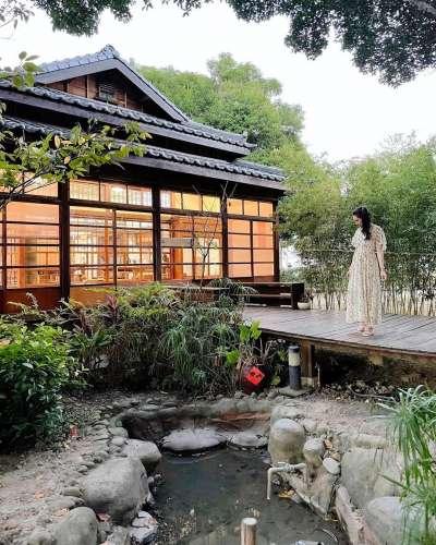 禾六藝文化館環境幽靜,有著日式的禪靜。(圖/ycxlife@instagram提供)