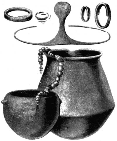 青銅文明阿爾加文化(El Argar)約於西元前2000年出現在如今的西班牙,墓穴出土的陪葬品。(Public Domain)