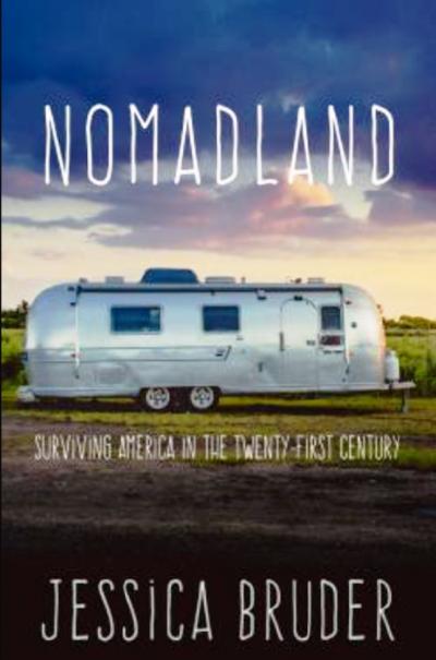 遊牧人生Nomadland原著書封(翻拍自網路)