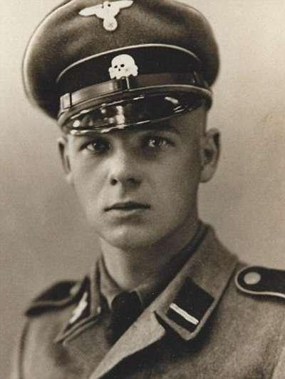奧地利籍納粹軍官溫施Franz Wunsch。(擷取自網路)