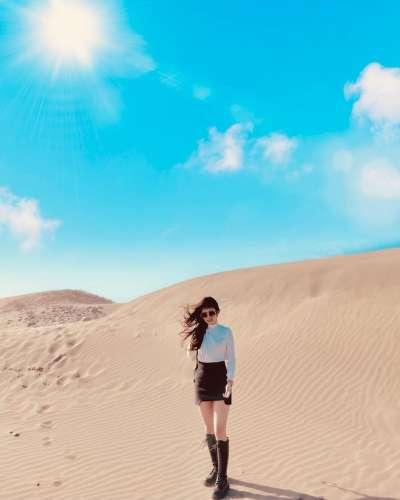 台南七股頂頭額沙洲(圖/kt_o826@instagram提供)