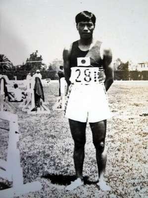 張星賢(1910/10/2-1989/3/14)於1932年參加洛杉磯奧運會,為第一位參加奧運的台灣田徑選手。也是第一位參加奧運的華人。 (維基百科公有領域)