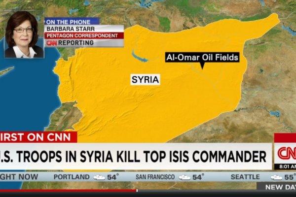 美軍特種部隊挺進敘利亞 擊殺伊斯蘭國頭目