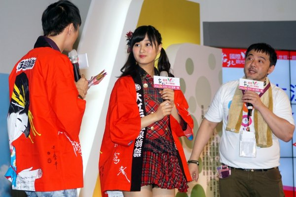 AKB48野澤玲奈、韓國歐巴車勝元 來台宣傳旅展