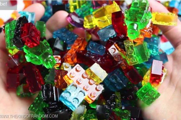 樂高新玩法!這些色彩繽紛的樂高竟然可以吃