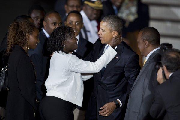 對抗恐怖主義 歐巴馬東非行踏上父親故土