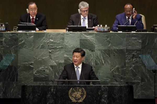 美國與中國的勢力消長《外交事務》:中共利用聯合國散布獨裁主義、擴張國際影響力