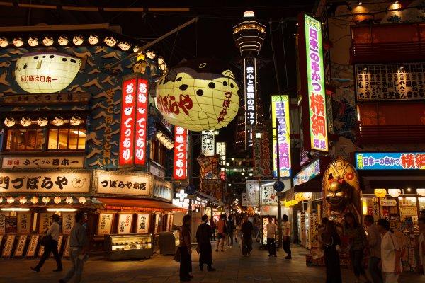 日本第一座電梯在哪?被網友封為「最失望景點」的高塔,卻也是大阪的精神象徵!
