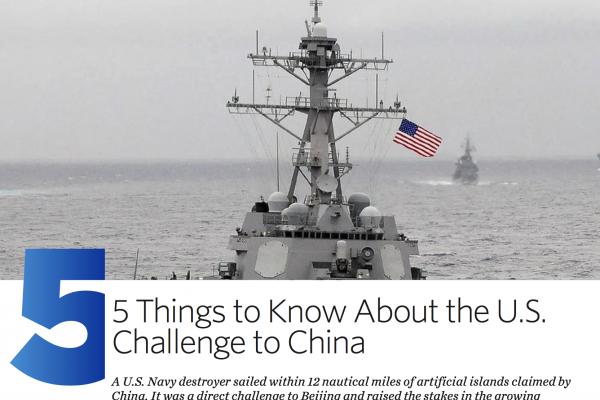 中美南海爭議Q&A》華爾街日報:美軍巡弋南海不會有實際影響