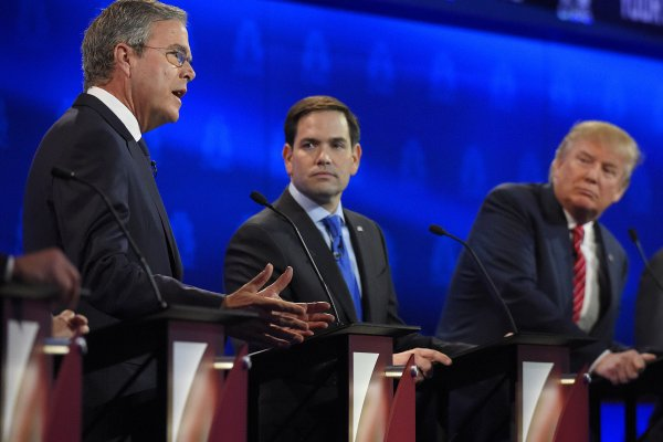 共和黨候選人辯論》魯比歐、克魯茲力壓群雄 主持人表現不佳反成箭靶