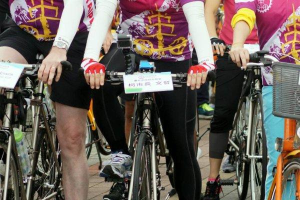 柯文哲拚騎自行車5小時69公里:騎到騎不動再說!