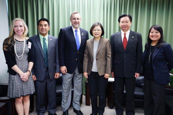 美國重量級眾議員邵建隆:非常支持台灣加入TPP