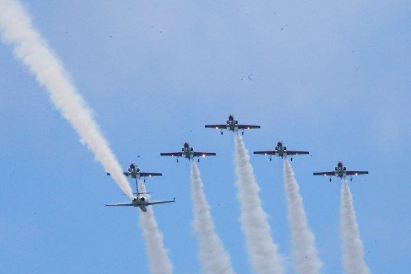 進口機「尬」國產機》空軍年度壓軸營區開放 AT-3、IDF戰機空中秀
