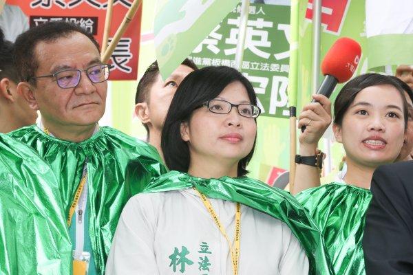 林淑芬力挺綠社盟陳尚志 不隨民進黨支持黃珊珊